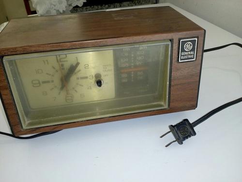 rádio relógio general eletric