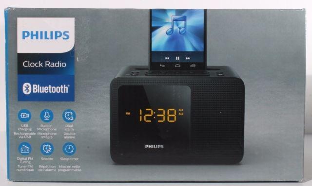 1b3c3d7ee78 Radio Relogio Philips Ajt5300 37 Com Bluetooth - R  249