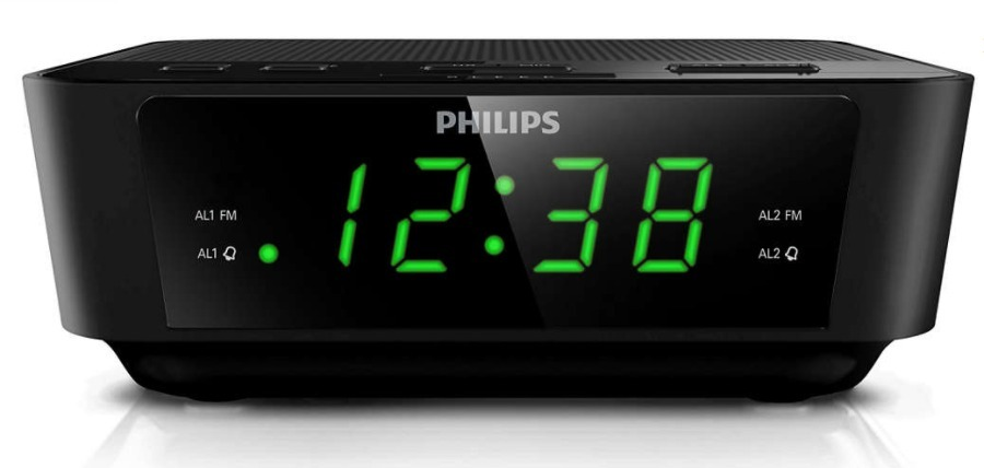 39322220f83 radio relógio philips digital a j 3116m 37 alarme. Carregando zoom.
