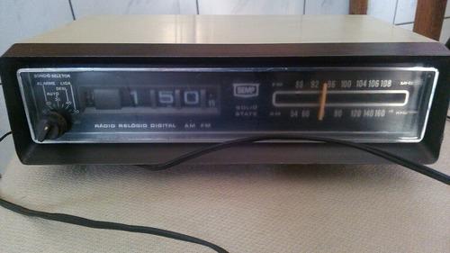 radio relógio semp antigo