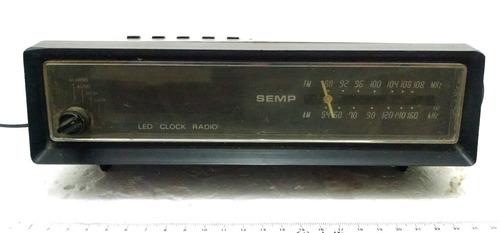 rádio relógio semp toshiba placa para desmanche
