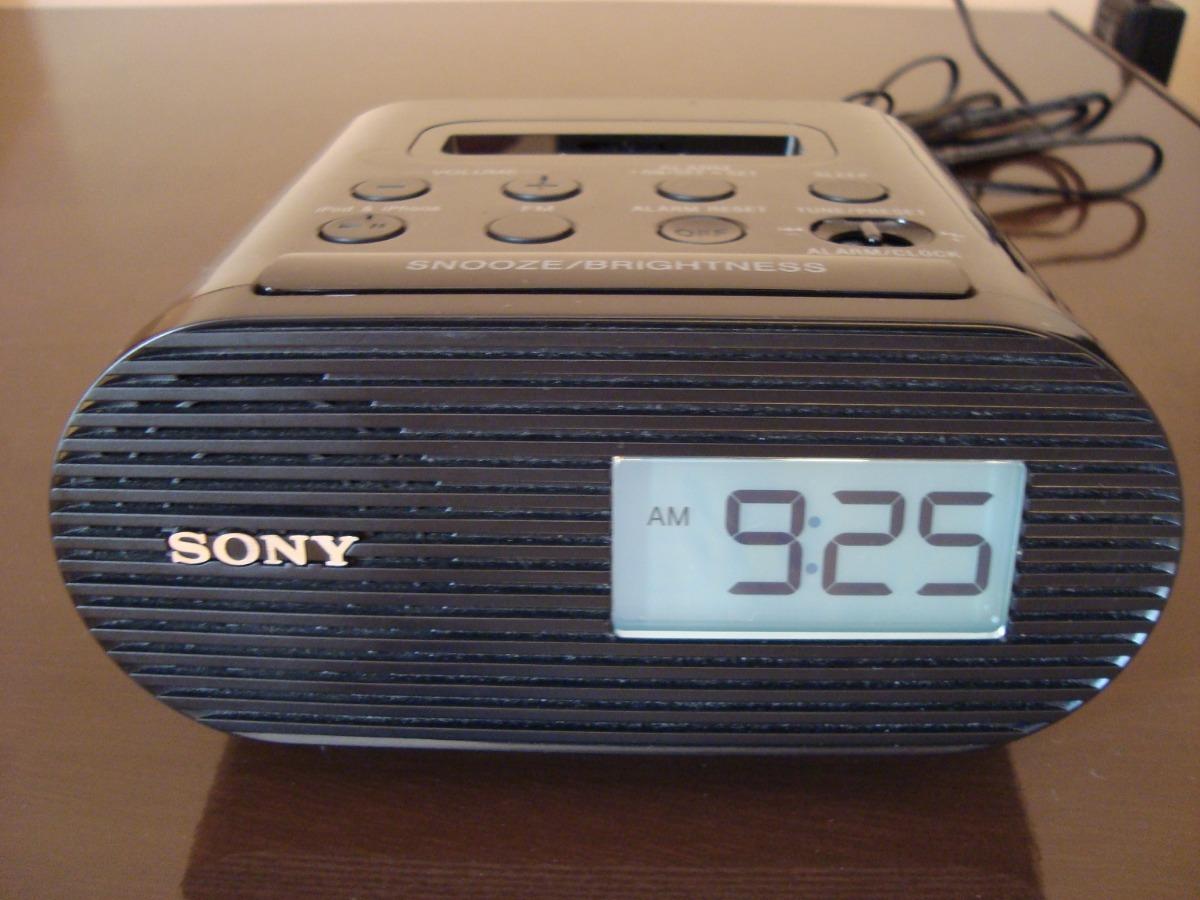 c3d88a947a6 radio relogio sony icf-c05ip com encaixe para ipod iphone. Carregando zoom.