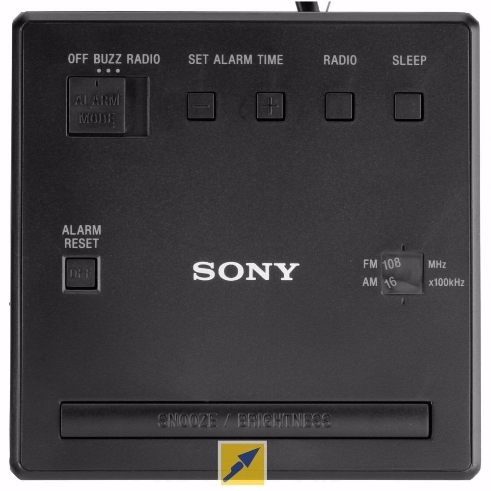 3fb01a1e10c rádio relógio sony icf-c1 - am - fm - 110 volts +nota fiscal. Carregando  zoom.