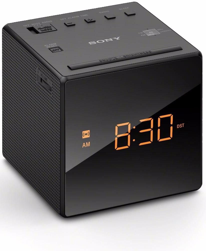57d219b8c4c Rádio Relógio Sony Icf-c1 - Am - Fm - 110 Volts +nota Fiscal - R ...