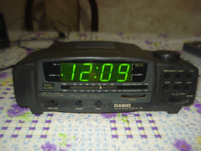 ffcf35846173 Radio Reloj Despertador Casio en Mercado Libre Argentina