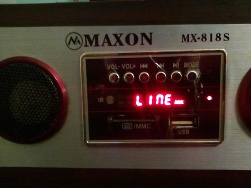 radio reloj despertador con usb y sd