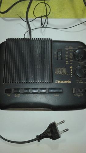 radio reloj despertador - maxsonic