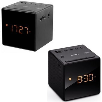 radio reloj despertador sony icf c1 am fm