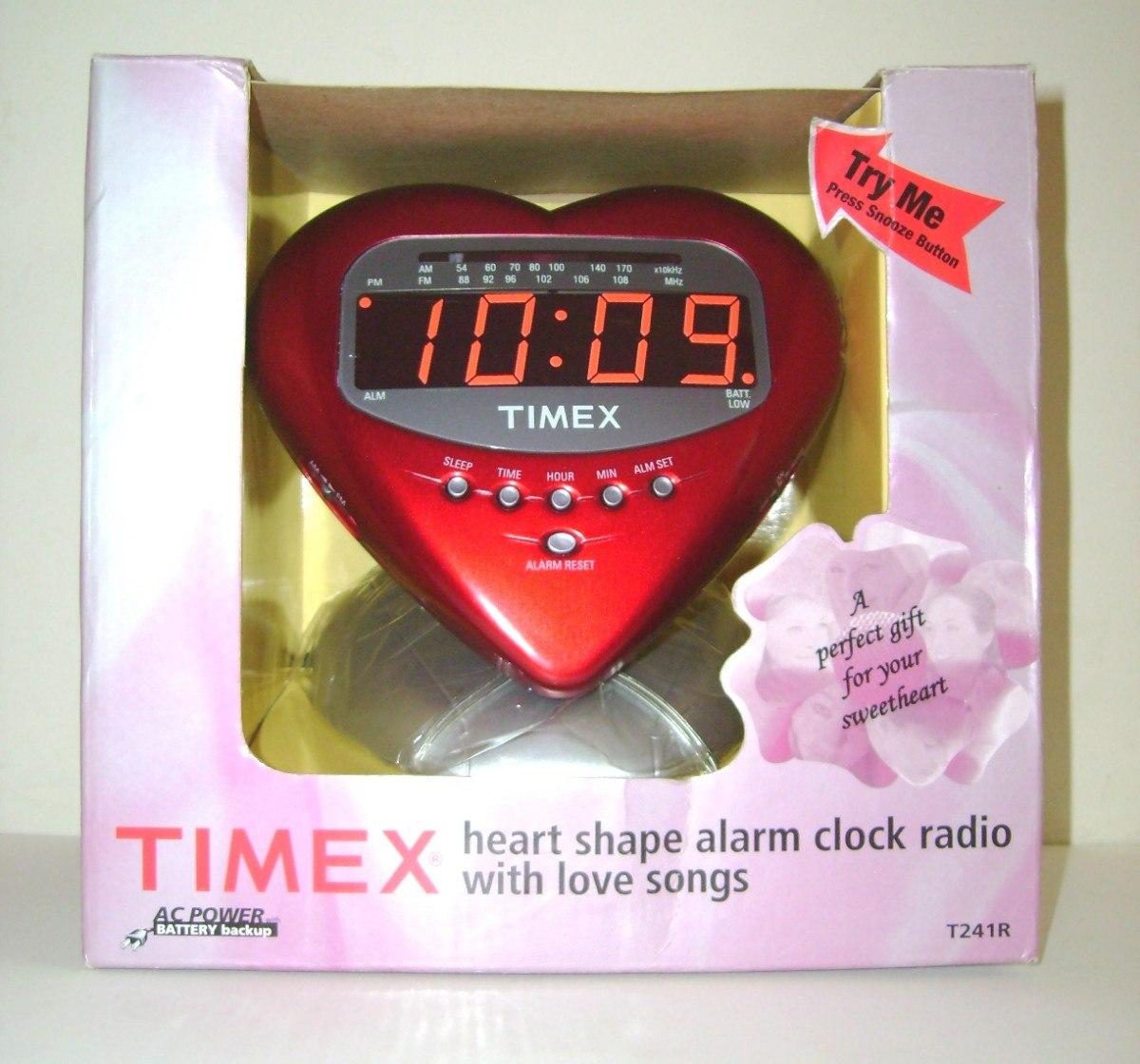 78ca2d8e992c Radio Reloj Despertador Timex Con Canciones De Amor -   579.00 en ...