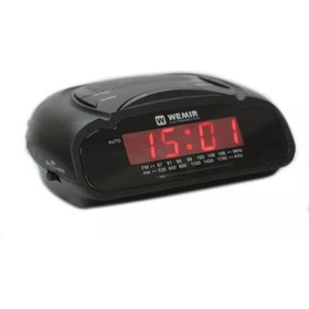 Radio Reloj Despertador Wemir 786 Radio Am-fm , Alarma 220v