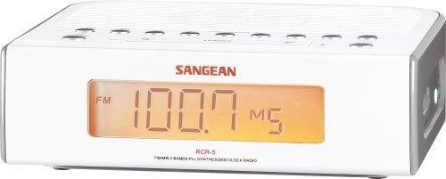 radio reloj digital am / fm sangean rcr-5