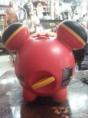 radio reloj disney motivo mickey mouse importado pilas