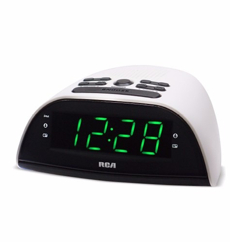 radio reloj fm / am  despertador rca rp-2870pl funcion sleep