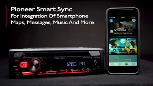radio reproductor 1 din pioneer deh-s31bt bluetooth usb cd