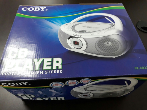 radio reproductor cd-am-fm marca coby