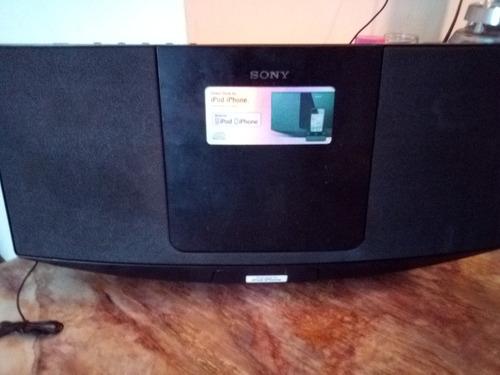 radio reproductor cd  sony