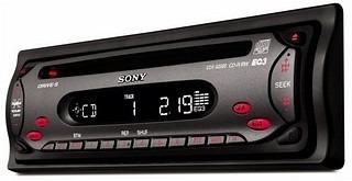 radio reproductor con frontal sony