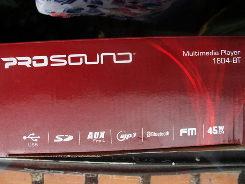 radio reproductor mp3, sd, usb, bluetooth, aux front