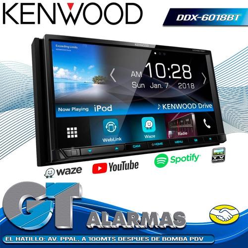 radio reproductor multimedia kenwood ddx-6018bt