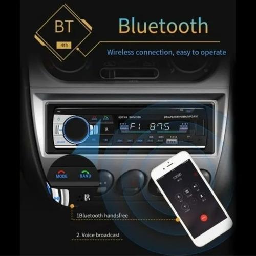 radio reproductor para carro usb bluetooth económico nuevo