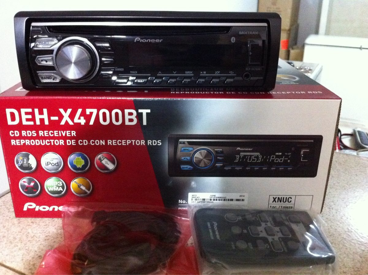 Pioneer DEH-X4700BT CD Receiver Driver FREE