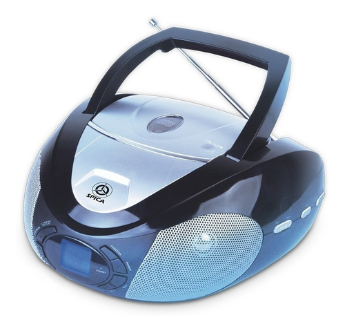 radio reproductor spica sp366 cd mp3 am fm usb eps