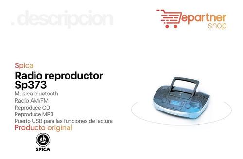 radio reproductor spica sp373 cd mp3 am fm bluetooth usb