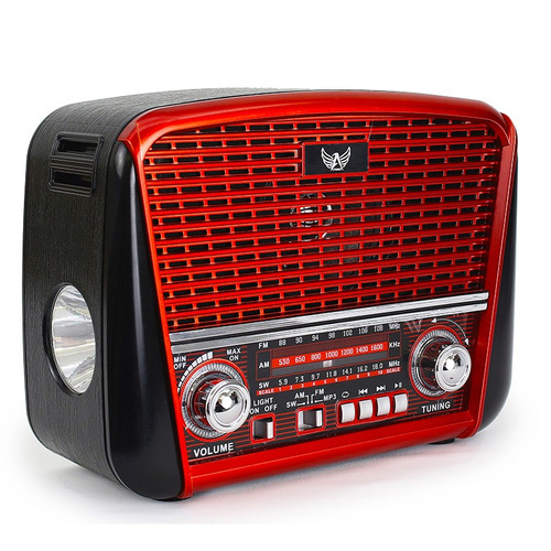radio retro altomex j107 vintage antigo fm am usb sd lantern