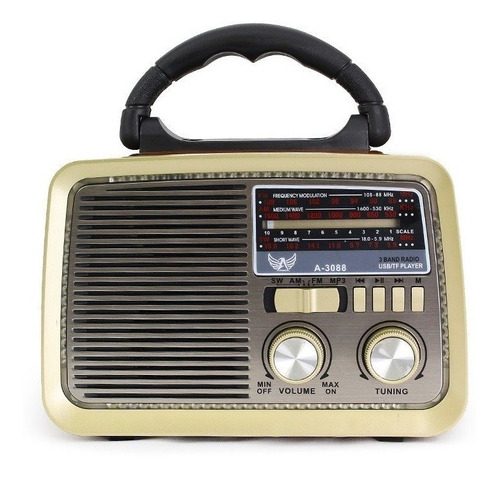 radio retro antigo vintage a-3099 altomex  fm am usb sd mp3