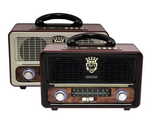 radio retro bluetooth recargable am fm zonalaptop