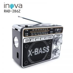 radio retro inova bluetooth/sd/usb/fm/am rad-286z
