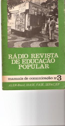 rádio revista de educação popular