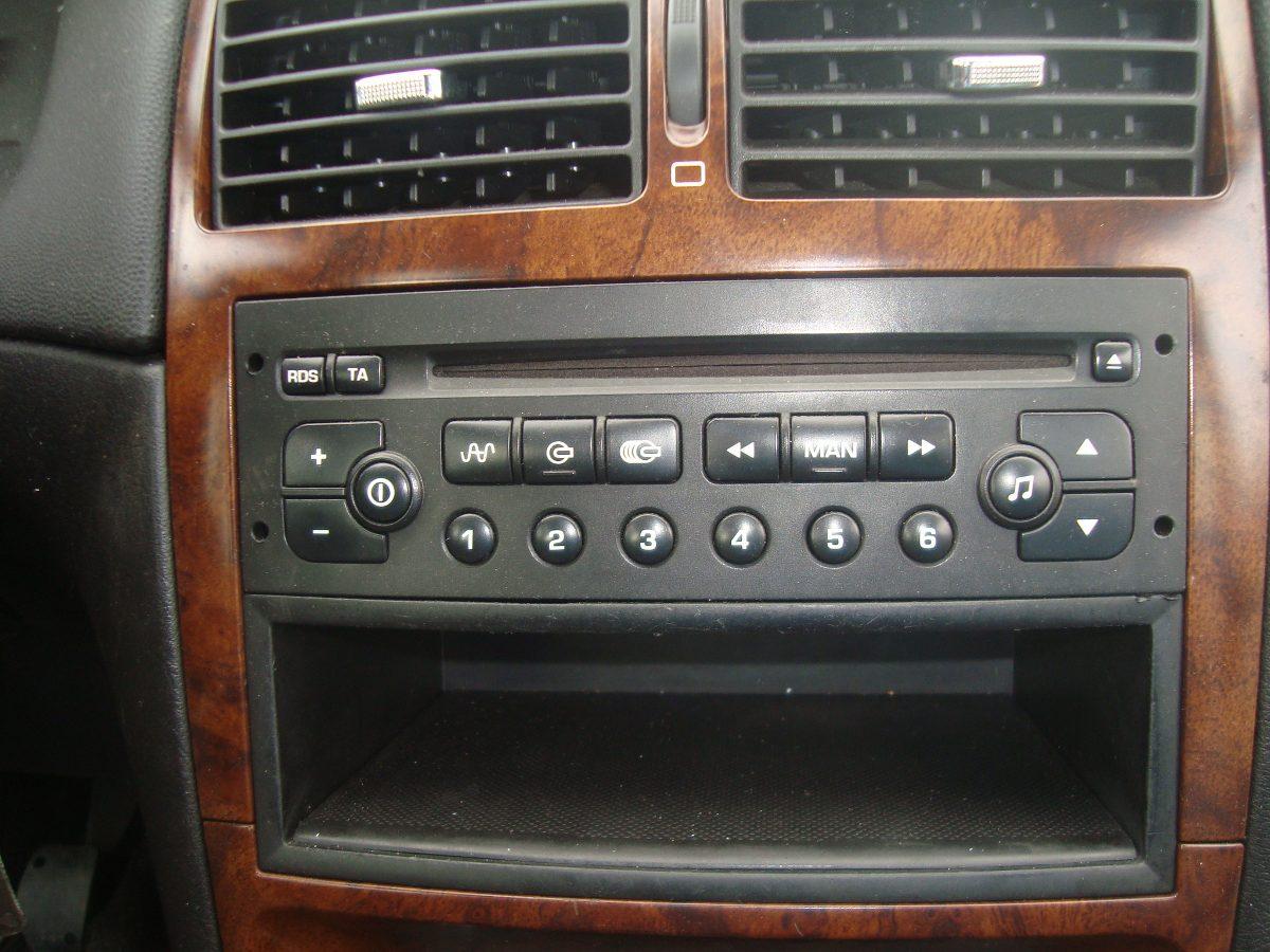 radio som original peugeot 307 r 200 00 em mercado livre. Black Bedroom Furniture Sets. Home Design Ideas