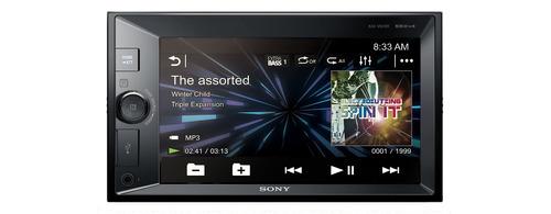 radio sony dvd para carro con lcd y bluetooth - xav-v631bt