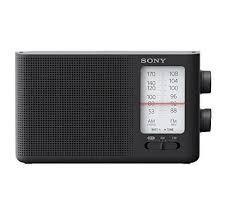 radio sony icf-19 fm/am 2 bandas analogico altavoz + correa