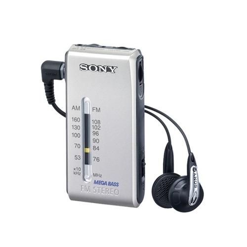 radio sony portatil am/fm srfs84. garantía y cuotas