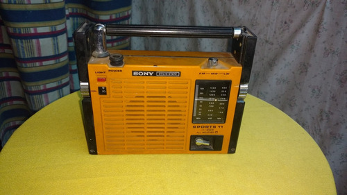 radio sony sports solid state