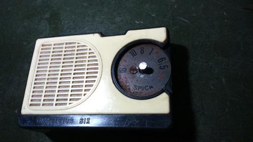 radio spica incompleta