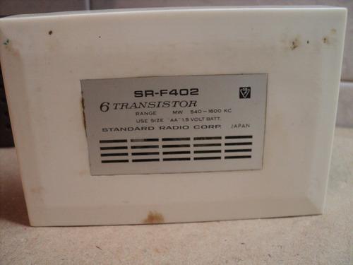 radio standard sr-f402 japan 1960 audio vintage retro