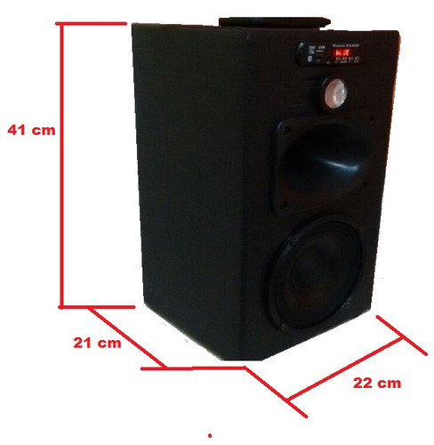 radio sturdy fm, bluetooth, c/ trio e graves fortes 110/220v
