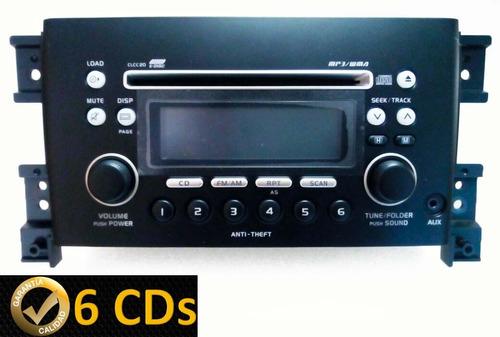 radio suzuki 6 cds grand vitara/ nomade