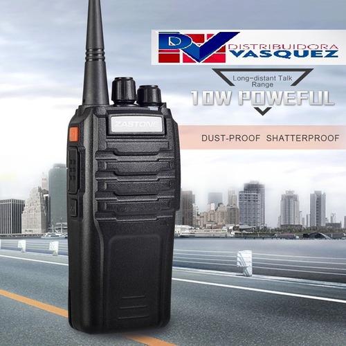 radio tactico zastone walkie talkie 10 km de largo alcance