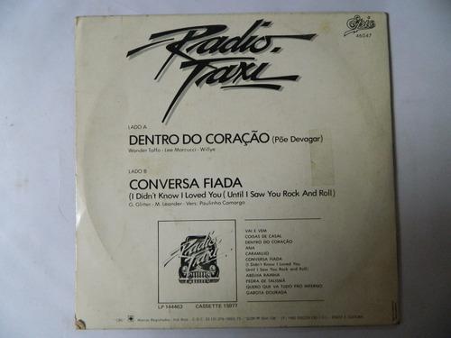 radio taxi - 1982 - dentro do coração - compacto - ep12
