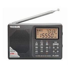 Rádio Tecsun Pl-606 Am/lw/sw/fm Stéreo Dsp Antena Estendida