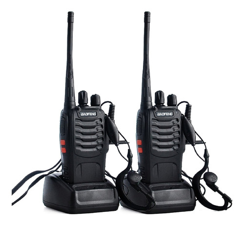 radio telefono baofeng 888s x 2 und.  1500mah 3,7v / impoluz