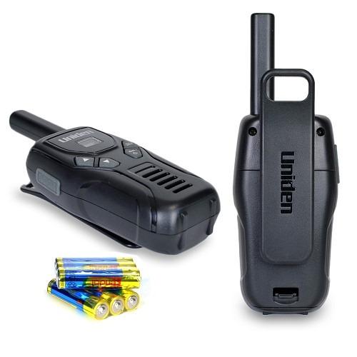 radio telefono walkie talkie uniden juego de 2 alcance 32km