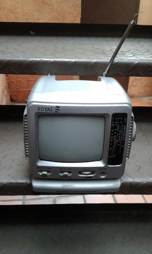 radio televisor portatil royal rt-055 pulgadas