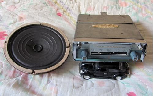 radio ten pic nic carro antigo vw alemao fusca kombi origina