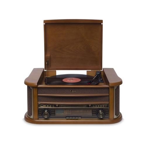 radio toca discos vitrola retro ópera bluetooth cd usb vinil