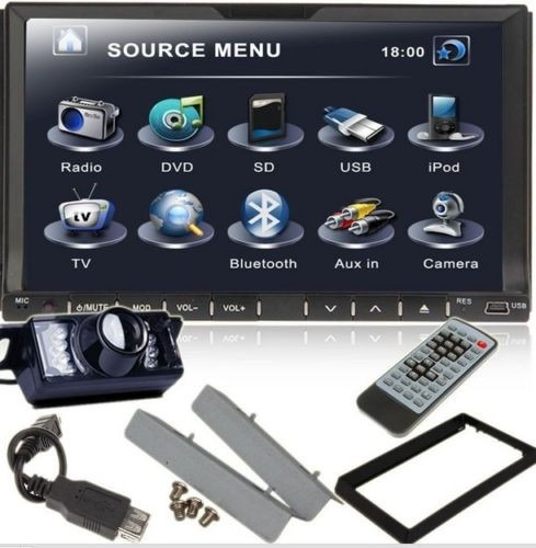 radio touchscreen car 2 din 7 dvd cd mp3 player android